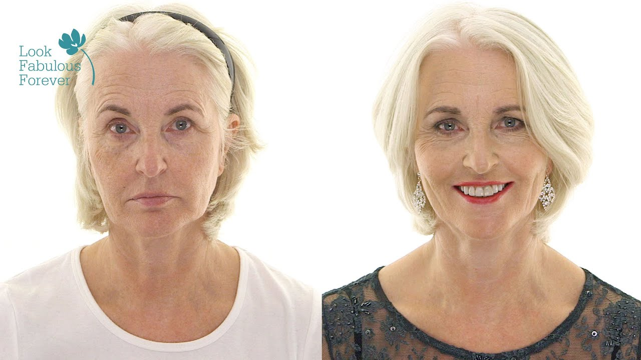 Makeup For Older Women Red Carpet Party Looks By Look Fabulous Forever - YouTube