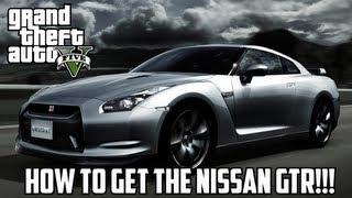 GTA V: How To Get The Nissan GTR! (Elegy RH8) | Special Car!