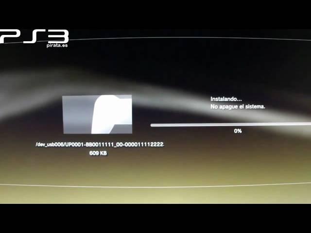 Como piratear la PS3 Gratis (CFW 3.55 GeoHot + FTP Blackbox)