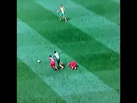 The incredible simulation of Luis Suarez during Norwich City vs Liverpool 2-3