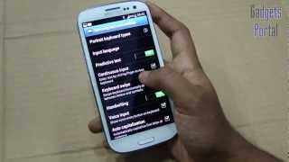 SPEED UP your GALAXY S3 III !- some useful settings to check - review by Gadgets Portal