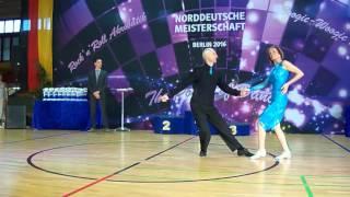 Karin Niedermayer & Peter Schütz - Norddeutsche Meisterschaft 2016