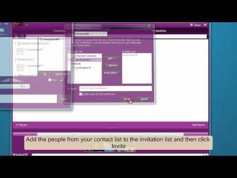 how to enter chat room in yahoo messenger 2013