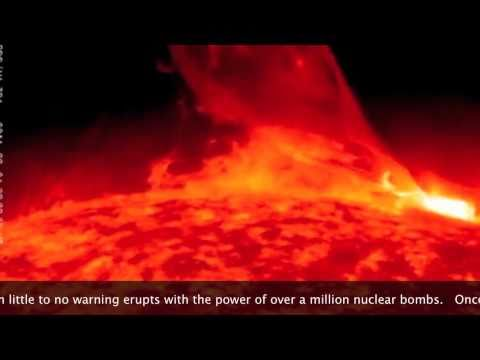 Massive Solar Storm Eruption: 02-28-2011