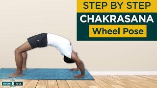 Chakrasana or Urdhva Dhanurasana (Upward Bow OR Wheel Pose) Benefits, How to Do - Siddhi Yoga