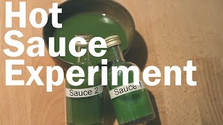 How to Make Hot Sauce, Does Fermentation Make a Difference? (Blind Triangle Test) |Flavor Lab
