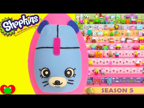 Shopkins Clicky Mouse Play Doh Surprise Egg and Limited Edition Hunt