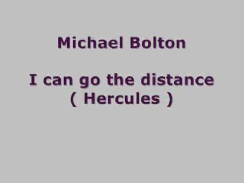 Michael Bolton - I Can Go The Distance (hercules) Lyrics video