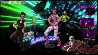 "Dance Central 2 ""CONCEITED"" Hard Gameplay 100% - MightyMeCreative"