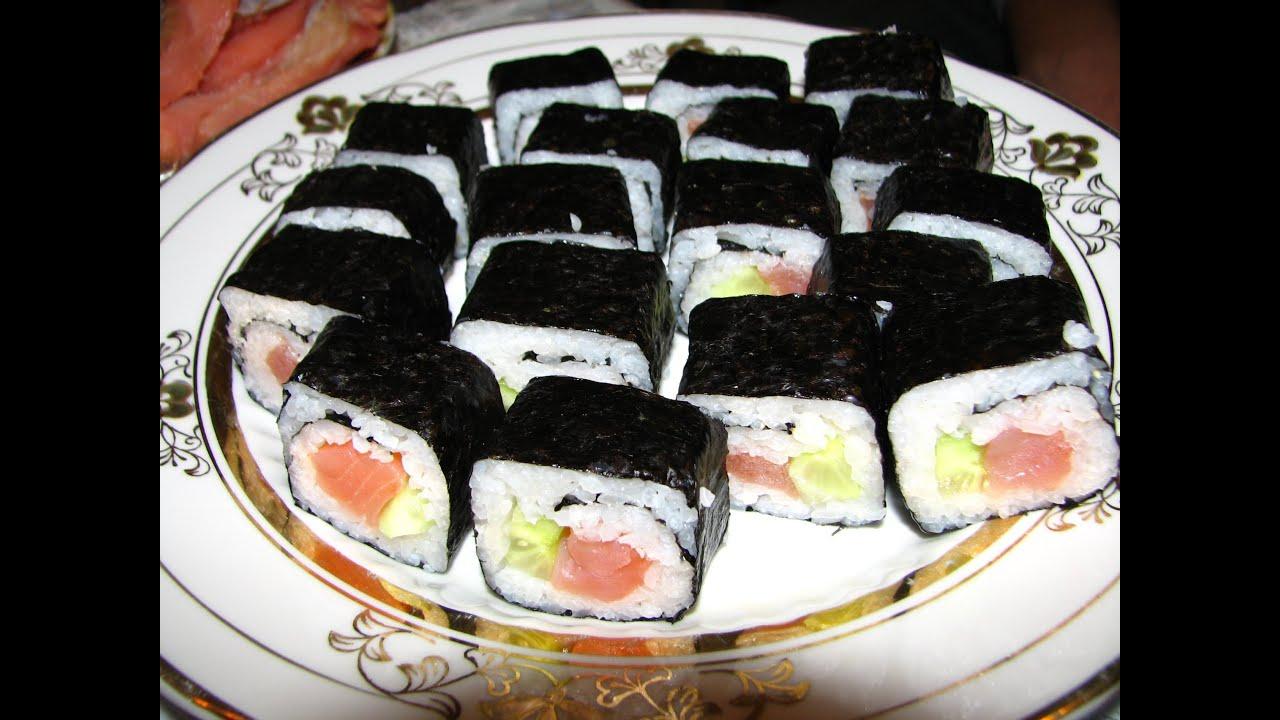 Суши своими руками фото рецепт