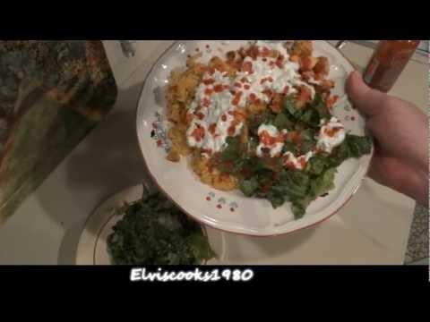 NYC -Halal Cart Style- Chicken Rice Ep. 7 Version1*(Street Food) - Elviscooks1980