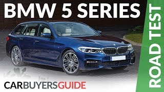 BMW 5 Series Touring 2017 Review - (G31) 530d xDrive & 520d