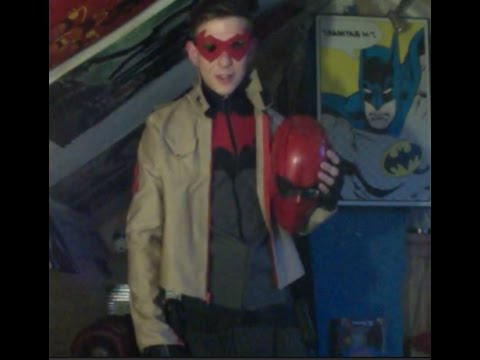 How to Make a Red Hood & The Outlaws Costume with Helmet