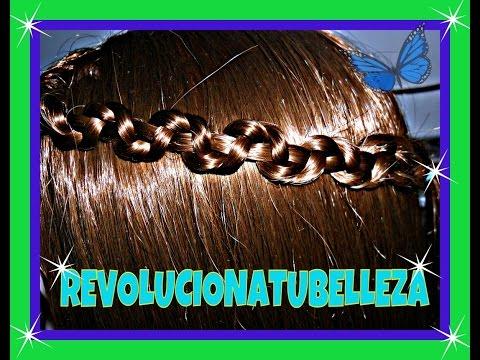Peinado: Trenza de serpiente, snake braid