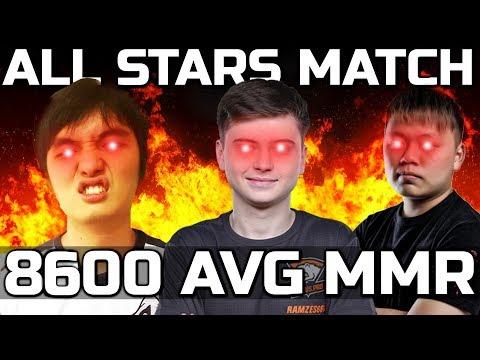 Highest 8600 Average MMR Ever Game in Dota 2 -