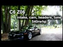 540 HP Z06 VS. STOCK GT-R Music Videos