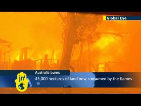 Australia wildfires consume vast areas