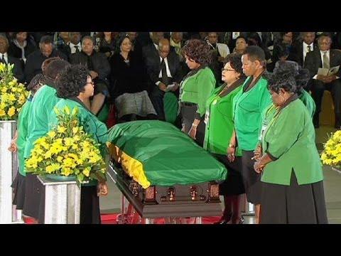 A Pretoria, l'ANC rend un dernier hommage à Mandela