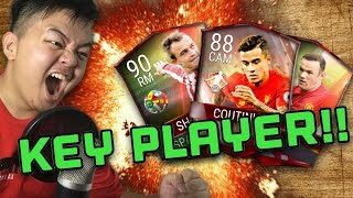 MASSIVE PRO PACK OPENING!! 2ND WORLD KEY PLAYER!! FIFA 17 MOBILE IOS / ANDROID