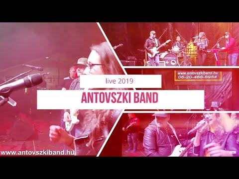 Antovszki Band 2019 koncert live band party zene esküvői zenekar fesztivál   party zenekar esküvőre