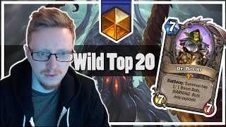 Hearthstone: Breaking the Top 20 Wild Legend
