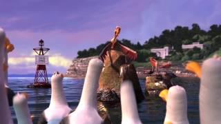 """Le Monde de Nemo 3D de Disney - Extrait du dessin animé """"Les mouettes"""""""