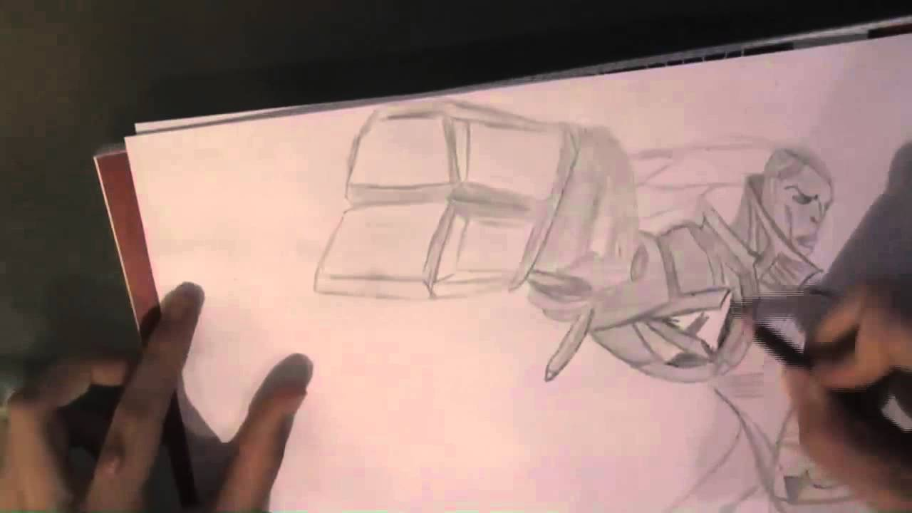 Lucian Lol Drawing Speeddraw 3 League of Legends