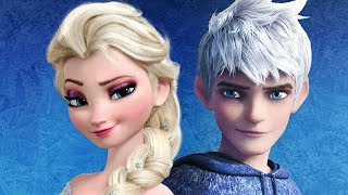Princess Elsa and Jack Frost - Love Date Makeover Game