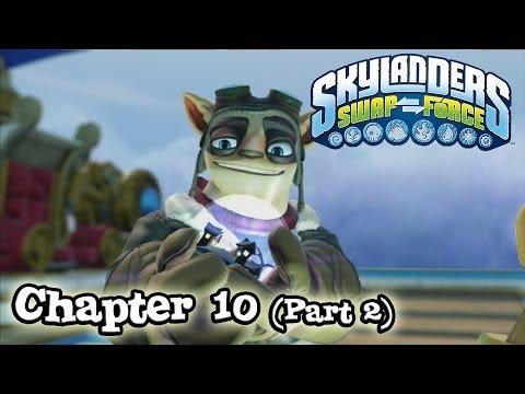 Let's Play Skylanders SWAP FORCE - Chapter 10 (Part 2) BONEY ISLANDS (Hard Mode)