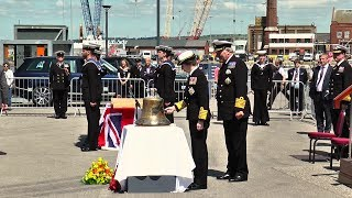 HMS Hood 'For Years Unseen' - How HMS Hood's bell came home