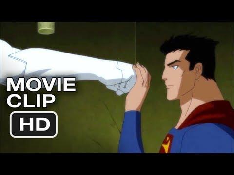 Justice League: Doom #1 Movie CLIP - Superman Fight (2012) HD thumbnail