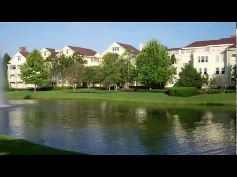 Walt Disney World Disney's Saratoga Springs Resort 2012 HD Florida