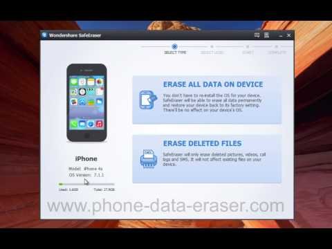How to Smash, Delete, Erase Everything on iPhone 5S/5C/5/4S/4 Permanently?