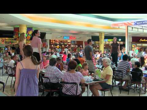 Food Court Flash Mob - America The Beautiful - Must See!