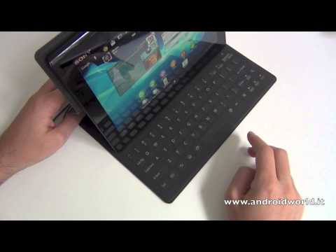 Custodia / tastiera per Sony Xperia Tablet S. la recensione by AndroidWorld.it
