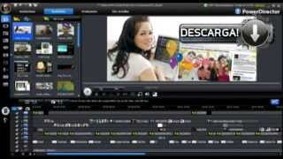 Descargar PowerDirector 8, Full 1 link [Mega]