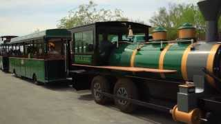 Trackless Train at the Springs Preserve