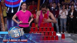 Stack Attack | Minute To Win It - Last Tandem Standing