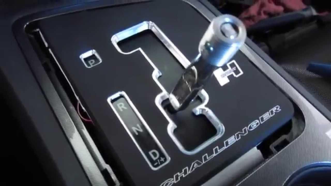 Easy Install Dodge Challenger Hurst Shifter Youtube