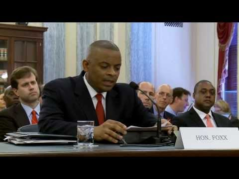 Senate Confirmation Hearing - DOT Nominee Anthony Foxx