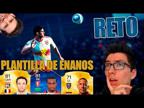 FIFA 16 - Ultimate Team | GOL DE CABEZA CON PLANTILLA DE ENANOS | #ElReto