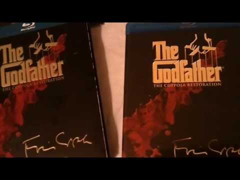 The Godfather Collection: Coppola Restoration (1972-1990) - Blu Ray Review And Unboxing