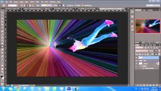 Hiệu ứng quả cầu năng lượng trong Photoshop