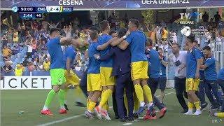 #EURO2019: Anglia - România: 2-4, ultimele 20 de minute ale unei partide istorice