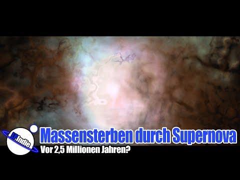 Massensterben durch Supernova vor 2,5 Millionen Jahren?