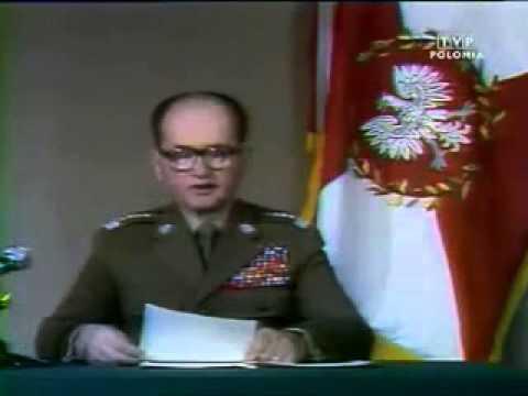 Skandal!!!!! Wojciech Jaruzelski wprowadza stan wojenny.