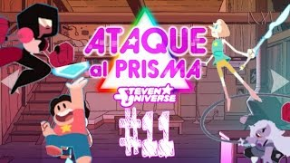 ► STEVEN UNIVERSE: ATTACK THE LIGTH : #11 GAMEPLAY ESPAÑOL ATAQUE AL PRISMA