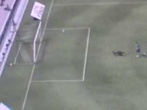 Fifa 09 Chiellini gol incredibile da metà campo!!!!!!!!!!!!