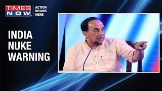 BJP MP Subramanian Swamy speaks on Rajnath Singh's NFU policy on nuclear doctrine