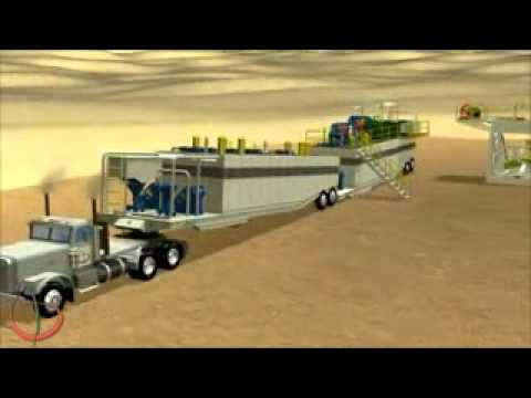 Arabian Drilling Services L.L.C 3D Animation - Rig up Drilling Animation